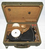 WW2 US Army Air Force Type A-12 Bubble Sextant With Case/Accessories
