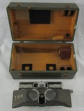 WW2 U.S. Army Civil Engineer Stereo-Comparagraph #-D Plans/Photo Viewer With case