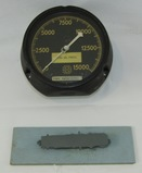 2pcs-WW2 Period USN Bogue Class Aircraft Carrier Fuel Oil Gauge-ID Model