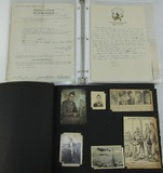 Named 517th Parachute Infantry Soldier's Scrapbook-Photos-V-Mail-Letters