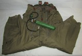 WW2 Type A-11A USAAF Flight Trousers With Rare Type H-2 Bail Out Oxygen Bottle