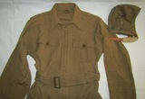 WWII US Army Air Corp Summer Flight Suit With Type A-9 Flight Helmet