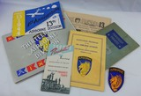 7pcs-WW2 US 13th Airborne Unit history booklets-Related US Paratrooper Booklets-13th AB Patch