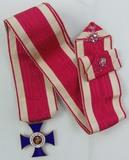 Rare  Naval Order Of The United States Medal W/Neck Ribbon-BB&B 10k