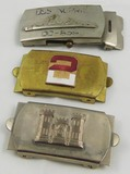3pcs-Military Related Belt Buckles