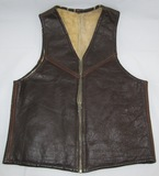 Pre/Early WWII U.S. Army Air Forces Leather C-3 Gunner/Pilot Vest-Scarce