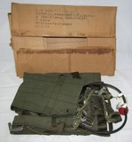 Late Vietnam War Period U.S. Airborne Parachutists Weapons Harness W/Issue Box