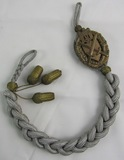Rare WW2 German Wehrmacht Marksman Lanyard For 12th And Highest Grade