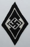 Waffen SS Former Hitler Youth Member Sleeve Diamond