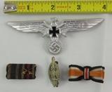 4pcs-WW1/WW2 German Soldier Veteran Insignia