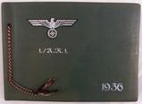 WW2 German Wehrmacht Soldier Photo Album-Unit Marked Album Cover