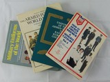 4pcs-WW2 Related Uniforms And Insignia Reference Books
