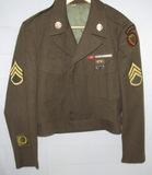 Korean War Period 24th Airborne Infantry Division Ike Jacket