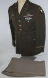 WW2 101st Airborne Officer's 4 Pocket Class Tunic With