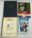 4pcs-47th Infantry Regt. 3 War Unit History-Author Signed Limited Ed. WW2 Memoirs Book-Etc.