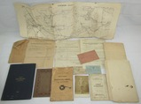 WW1 324th Infantry Rgt/81st Division Named Pioneer Platoon Grouping-Rare Trench Maps