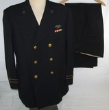 Rare WW2 U.S. Merchant Marine Officer's Tunic/Matching Trousers-Named