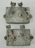 WW2  PBY/Other USN Bomber Aircraft Left & Right Bomb Shackles Type AN-A-2A
