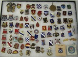 84pcs- WW2 Misc. U.S. Distinctive Insignia/USN Insignia Etc.