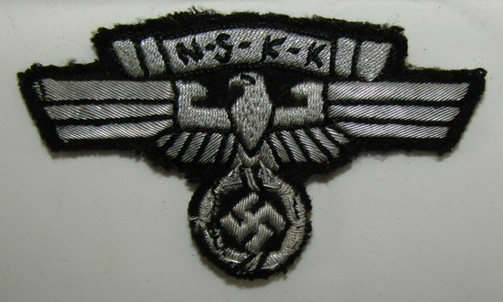Pre WW2 1936 Version NSKK Officer's Bullion Sleeve Eagle