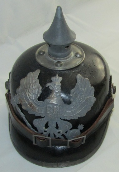 """Prussian/WW1 German Pickelhaube """"Spike"""" Helmet"""