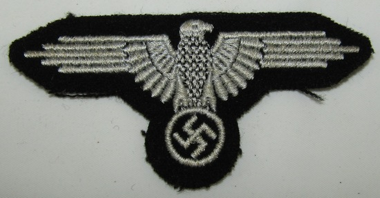 Waffen SS Embroidered Arm Eagle For Enlisted/NCO