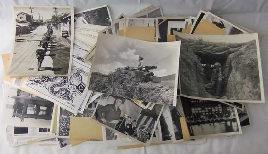 157+ pcs Misc. Korean War Period Press Photos