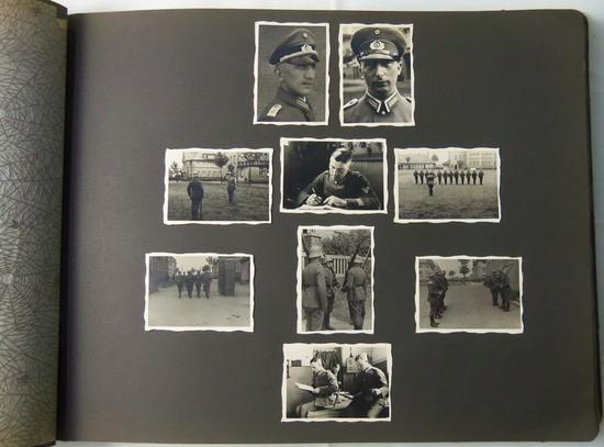Weimar Period/Pre WW2 German/Nazi Soldier Photo Album-297 Photographs.