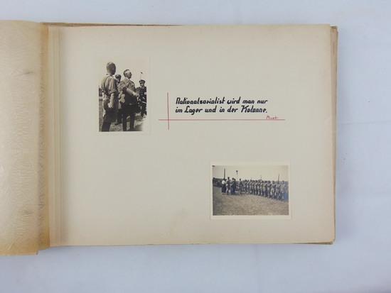 "Rare WW2 Hitler Youth ""Landjahr"" Community Service Camp Photo Album"