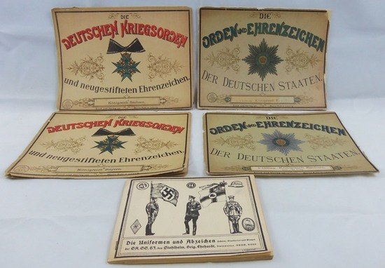 Rare 1800's German/Austrian Medal Reference Books-1950's German Uniforms Reference