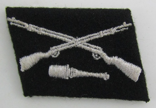 "Waffen SS Foreign Volunteer 29th Grenadier Division  ""Dirlwanger"" Collar Tab"