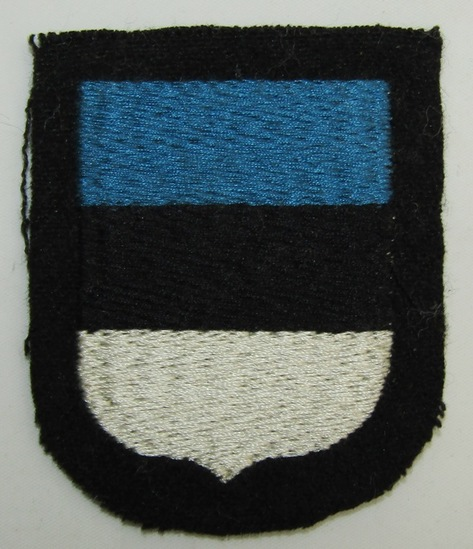 Waffen SS Estonian Volunteers Arm Shield-3rd Pattern
