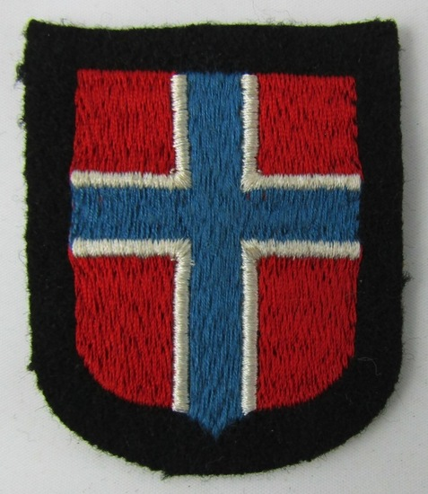 Waffen SS Norway Foreign Volunteers Arm Shield-Wiking SS Panzer Division