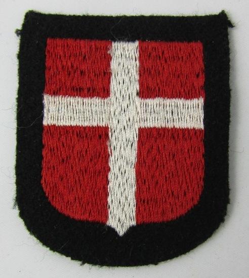 Waffen SS Danish/Denmark Volunteers Arm Shield-Wiking SS Panzer Division