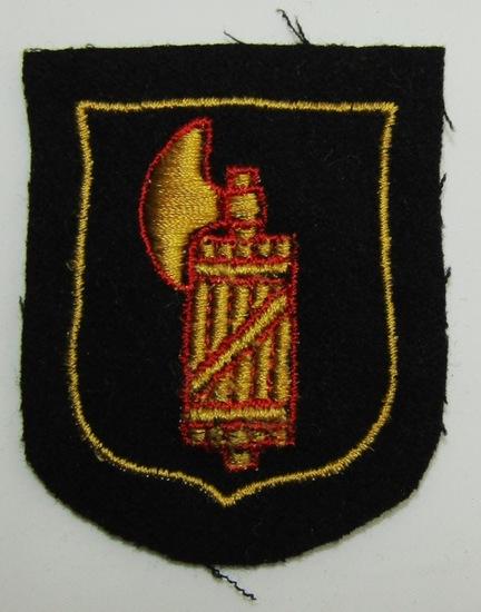 Waffen SS Italian Volunteers Arm Shield.