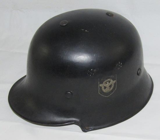 M34 Double Decal Civil Police Helmet