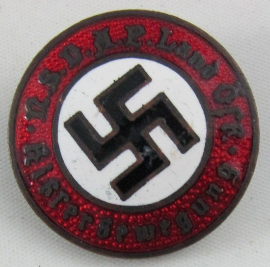 Early Austrian Nazi Party Badge