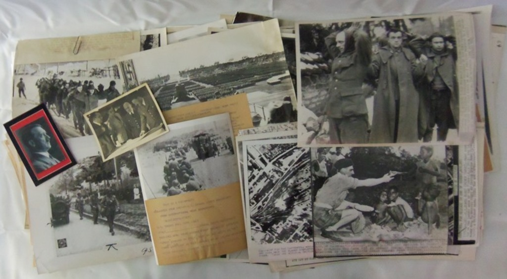 125+ WW2 Period Press Photos-German POW's-Normandy-Aerial-Early Rallies-South Pacific Etc.