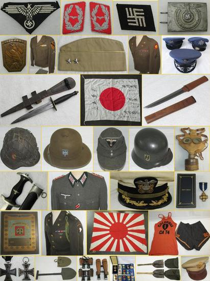 MILITARY COLLECTIBLES AUCTION TUES 6-25-19 5:30PM