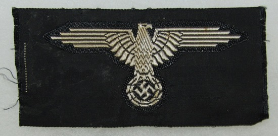 WW2 Waffen SS Arm Eagle For Enlisted-Bevo Embroidered.