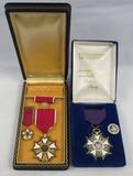 Named Legion Of Merit Medal W/Mini/Case-Cased Republican Presidential Legion Of Merit