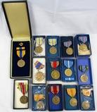 14pcs-Misc U.S. Military Medals