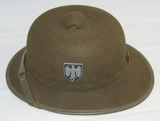2nd Model Wehrmacht Tropical Pith Helmet-1942 Dated-Vet Bring back