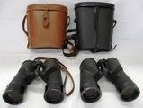 2 Pair WW2 Period USN Binoculars-M7 And Mark 28 By Bausch & Lomb
