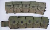 2pcs-WW2 U.S. Soldier Carbine Ammo Belts