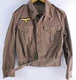 WW2 British Battle Blouse With Kreigsmarine Breast eagle