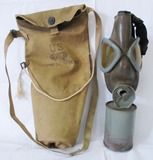 Pre/Early WW2 U.S. Airborne Training Gas Mask