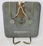 Rare WW2 Period USN? Pilot's Mark 4 Seat Parachute Pack