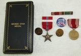 WW2 Bronze Star\Misc. Insignia Grouping.