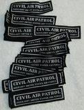 35pcs-Vietnam War Period Civil Air Patrol Uniform Tab Patches